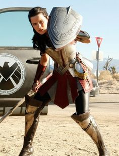 """""""Marvel: Agents of S.H.I.E.L.D. - Lady Sif"""" - You know, that shield doesn't seem all that practical to me."""