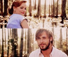 The Notebook... this movie will never get old to me, still makes me cry!  Love this scene with the swans