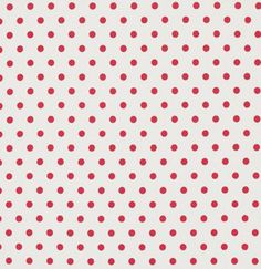SALE !  French Dots in Ivory  /RED Polka Dots on Ivory /  Petal Collection  by Tanya Whelan  / 1 Yard Cotton Quilt Apparel  Fabric
