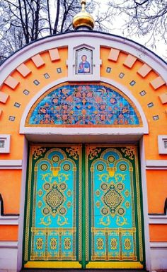 Painted Doors, Russia