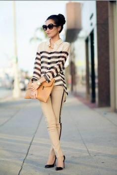 Trend Alert: calça com listra lateral