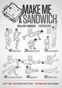 Make Me a Sandwich Workout
