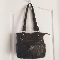Brown Rosetti Shoulder Bag