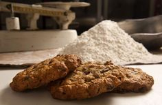 Oat and Cranberry Monster Cookies