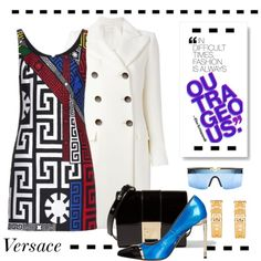 How To Wear Outrageous Versace Outfit Idea 2017 - Fashion Trends Ready To Wear For Plus Size, Curvy Women Over 20, 30, 40, 50