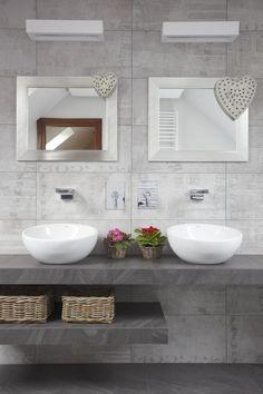szara łazienka - Google Search