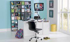 Tok&Stok Homeoffice Versátil e funcional, o home office também pode ser usado como sala de estudos.