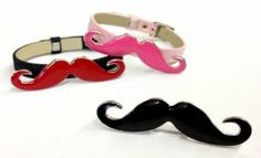 Mustache Charm Bracelet BG247. $4.49. Bracelet Style: Denim Black or Glitter Light Pink. PLEASE CONTACT US AFTER PURCHASE TO CUSTOMIZE YOUR BRACELET BAND AND MUSTACHE COLOR-- OTHERWISE IT WILL BE RANDOM.. Mustache Charm Color: Pink, Red, Black