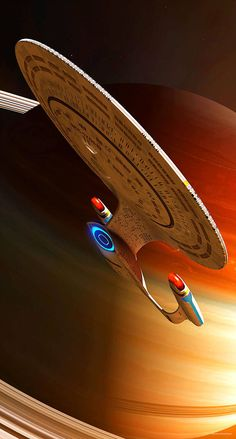 "Encounter At Star Trek geekthegeek:"" Enterprise D by GrahamTG"" Star Trek Original Series, Star Trek Series, Wallpaper Star Trek, Nave Enterprise, Star Trek Enterprise Ship, Star Trek Posters, Star Trek Cast, Starfleet Ships, Star Trek Characters"