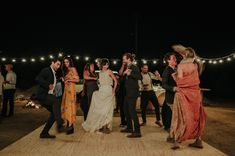 Boho Camp Wedding Inspiration with Sunset Hues + a Fire-Roasted Feast Camp Wedding, Rustic Wedding, Hot Dogs, Under The Stars, Green Wedding Shoes, First Dance, Boho, Party, Dress Up