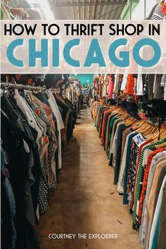 Whether you're moving to Chicago on a budget, looking for one-of-kind fashion pieces, in the resale game, or just love finding hidden gems - Chicago has a multitude of thrift stores perfect for your needs. Here are seven of my favorites to visit when to travel to Chicago! Moving To Chicago, Chicago Travel, Budget Travel, Travel Tips, Chicago Location, Humboldt Park, Lululemon Yoga, Local Events, Thrift Stores