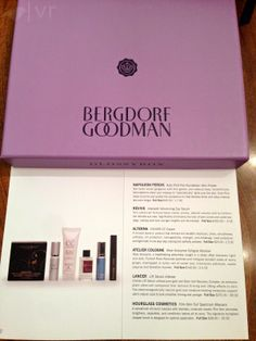 Here is the detailed contents card from the May 2014 GLOSSYBOX - Bergdorf Goodman! This subscription costs $21/month or $220/yearly. Find out more about this box on my BLOG: http://boxielove.blogspot.com/2014/06/glossybox-may-2014-bergdorf-goodman.html Do you want your own GLOSSYBOX? Just leave your email address in the comments and I'll send you a referral link and promo code!