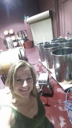 Filtering wine for this week's client bottling sessions.  I'm looking forward to seeing the smiles on everyone's faces when they taste their delicious wine.  Are you a wine lover?  Become a winemaker at Grape Finale! #GrapeFinale #wine #winemaking
