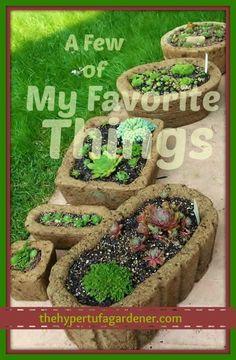 A Few of My Favorite Hypertufas! - The Hypertufa Gardener