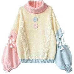 Pastel Fashion, Cute Fashion, Fashion Outfits, Fashion Styles, 80s Fashion, Womens Fashion, Fashion Tips, Kawaii Clothes, Pastel Clothes