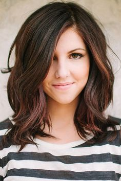 For the glamour girl in you, a shoulder-length bob takes well to loose, soft waves. Read more: http://www.dailymakeover.com/trends/hair/fall-haircuts-2014/#ixzz3E0feWvQ5