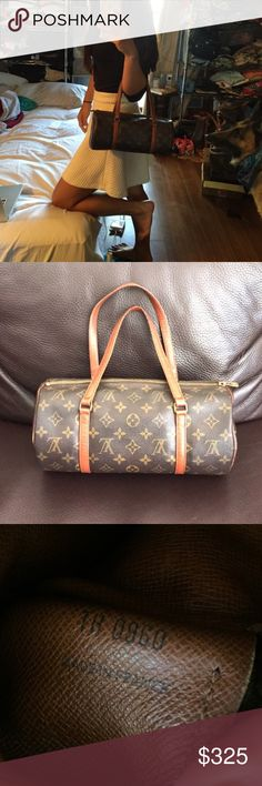 Authentic LV Papillon Vintage LV papillon 30. Excellent condition but has wear on the straps as seen in picture. Price negotiable and willing to trade for new Alexander wang rockie. Louis Vuitton Bags