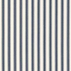 Little Bay Ticking – Admiral - Maritime Outdoor - Fabric - Products - Ralph Lauren Home - RalphLaurenHome.com