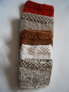 Hand knitted Women Boot cuffs Leg warmers by KnittingsWithSense