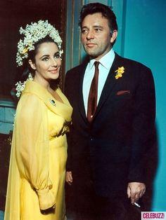 Elizabeth Taylor and Richard Burton's wedding day