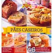 Livro Receitas Coleção Toda Cozinha - Pães Caseiros - 98pag