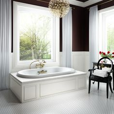 The Elegancia bathtub collection has the perfect name to express the refined and clean lines it features. Discover the collection here : http://www.bainultra.com/therapeutic-baths/our-collections/elegancia