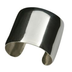 Laura Levy Sterling Silver 50mm Cuff by lauralevydesigns on Etsy, $550.00