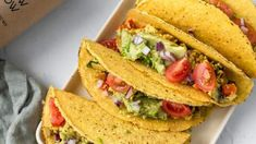 Check out this recipe! Breakfast Tacos, Savory Breakfast, Protein Mix, Vegan Detox, Tofu Scramble, Extra Firm Tofu, Stuffed Mushrooms, Stuffed Peppers, Fresh Chives