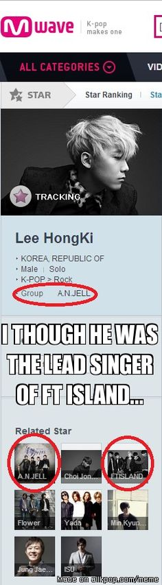 Hehehe :D (AN GELL is the band in his drama)