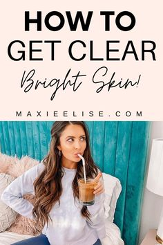 The best skin care products to help you get clear, bright skin! How to get rid of your acne. #skincareroutine #skincaretips #skincareproducts #clearskin
