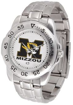Missouri Tigers Steel Sports Watch