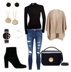 """""""Planetarium"""" by emkr43 on Polyvore featuring J Brand, Duffy, Marni, Humble Chic and Blue Nile"""