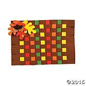Fall Colors Weaving Place Mat Craft Kit