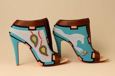 Gorgeous beaded heels by Jamie Okuma. Native American artist. #nativeamerican