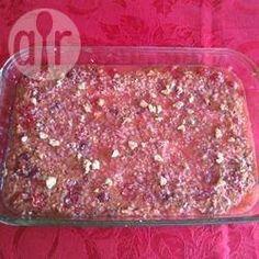 Cherry, Walnut and Coconut Slice @ allrecipes.com.au