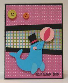 "Cricut Birthday Bash, Cardz TV Stamps ""Make A Wish"""