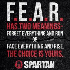 """FEAR = FORGET EVERYTHING AND RUN Ticinosthetics - Bodybuilding / Fitness…"