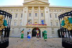 LEGO figures of Camilla, Duchess of Cornwall, Queen Elizabeth II, Catherine, Duchess of Cambridge, Princess Beatrice, Princess Eugenie, Zara...