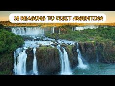 18 reasons to visit Argentina Visit Argentina, Secret Places, Waterfall, Vacation, Architecture, Outdoor, Inspiration, Furniture, Arquitetura
