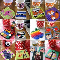 Sous-mugs en série