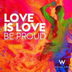 Love is love. Be proud. #lgbt #pride #gay #equal #marcha #orgullo