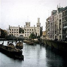Berlin Mühlendamm Schleuse (1910)