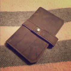 NWT Copper River Bags Leather Passport Holder Beautiful handmade leather passport holder. Never been used. Copper River Bags Accessories