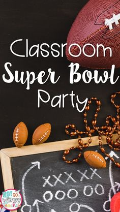 If you are looking for a way to get students engaged in their lessons and include student families in the classroom- a Super Bowl class...