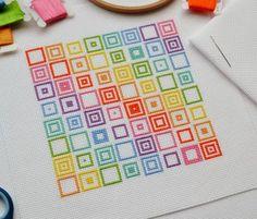 PDF Cross Stitch Pattern for Geometric by theworldinstitches