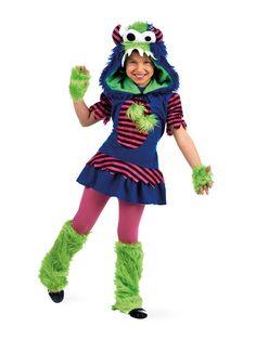 Süsses Monster Halloween Kinderkostüm bunt - Artikelnummer: 720810000 - ab 49.99EURO - bei Karneval-Megastore.de!