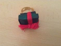 Gift ring in recycled paper