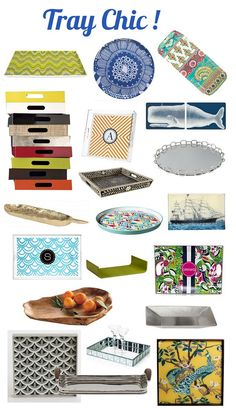 The other day I bought myself yet another tray for corralling small items around the home, they're just so stylish and versatile too! Trays work well in the kitchen for mail or utensils, in the office for bills and desk supplies, in the family room for remotes, books and magazines, and in the entry for [...]