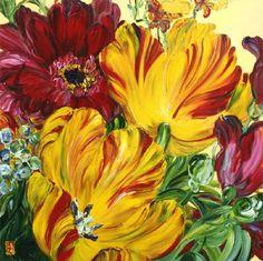 Bobbie Burger Art - you MUST Google her name - great floral art!