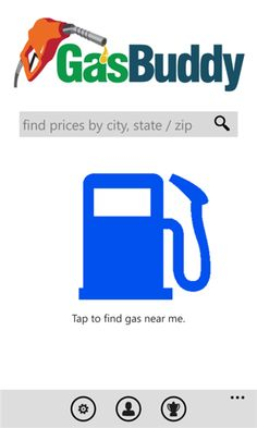 GasBuddy Giving you the most comprehensive real-time gas prices and helping you find the cheapest prices in your area. Help fight high gas prices together by reporting gas prices, and get a chance to win free gas in the process! This is an all new, all Windows Phone 8 version of the GasBuddy app you know...  http://www.windows8apps.net/gasbuddy/